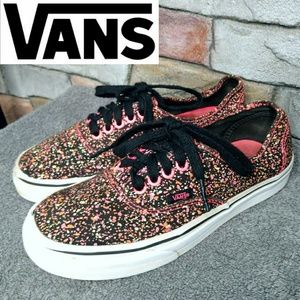 Vans Colorful Confetti Low Top Lace Up Sneakers